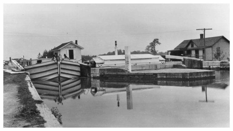 Historic Lock 52 from 1921